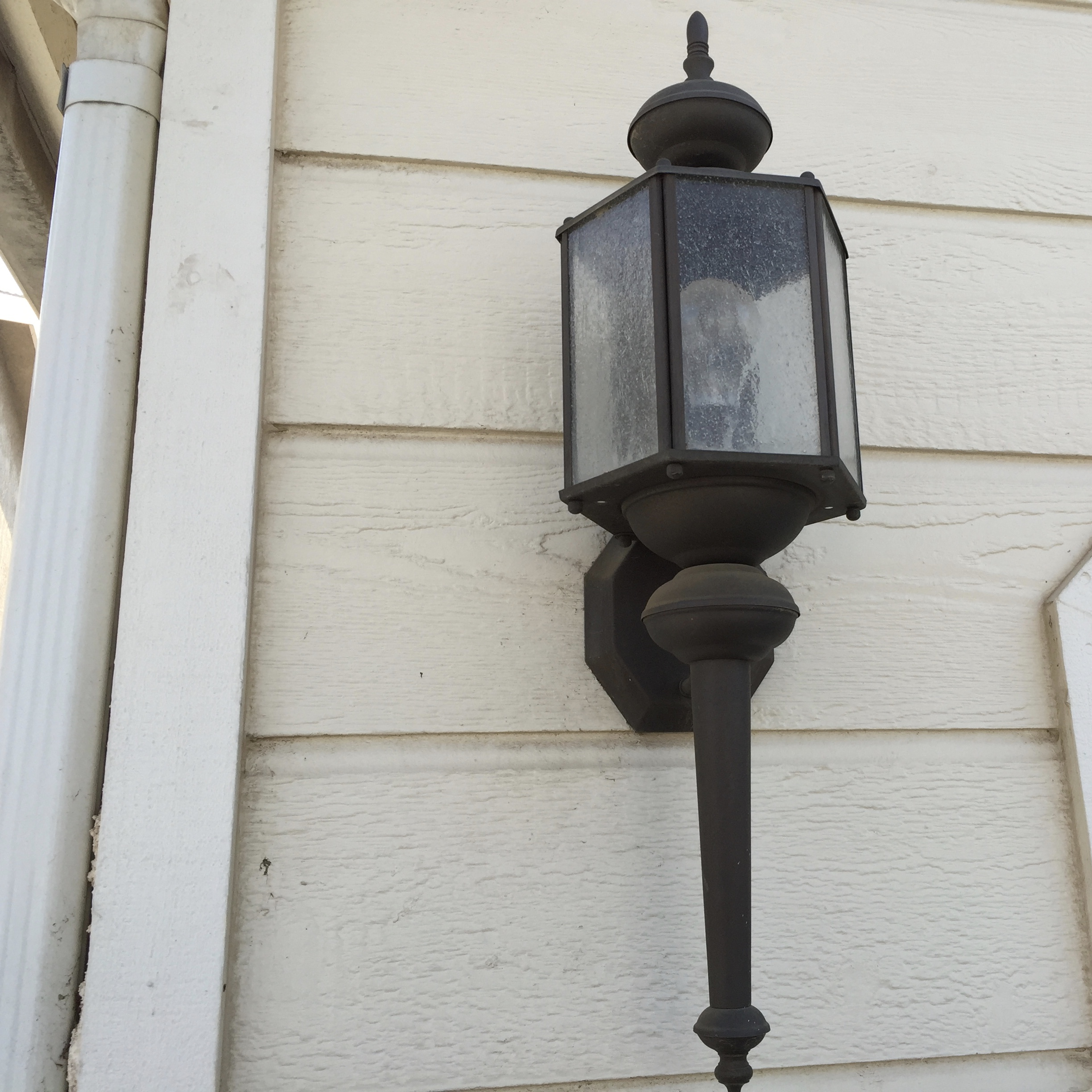 Let There Be Light Part II Outdoor Garage Lights Quick DIY