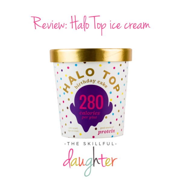 Review: Halo Top ice cream