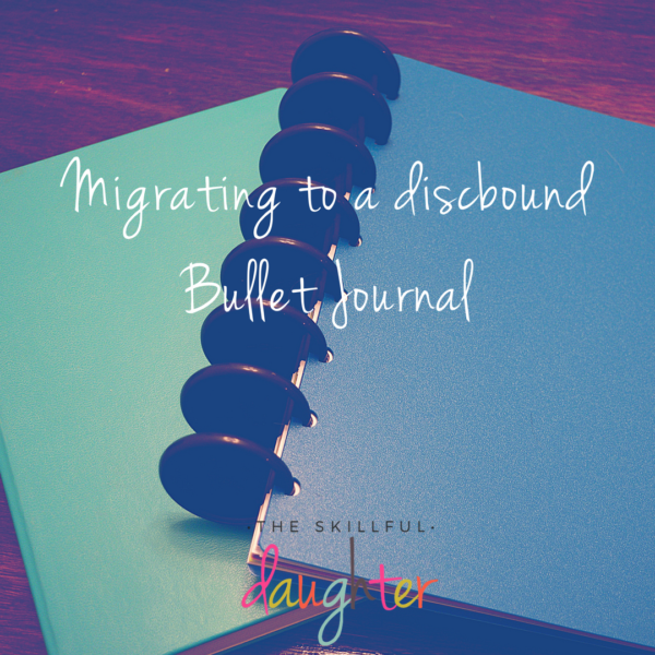 Migrating to a discbound Bullet Journal